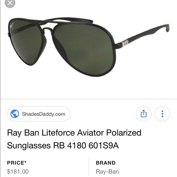 48bd19e79d Accessories - RayBan Polarized Aviator Sunglasses